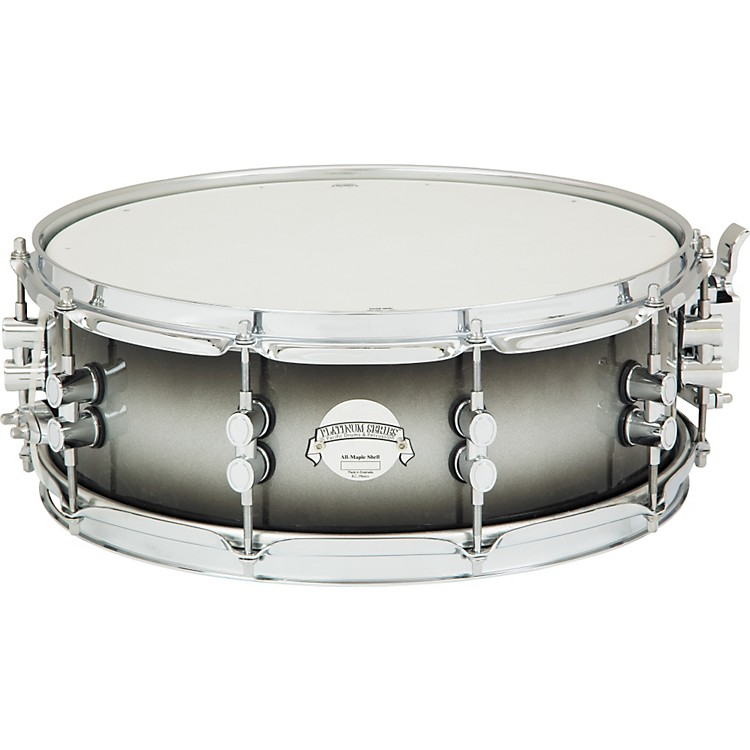 PDP by DW Platinum Lacquer Solid Maple Snare
