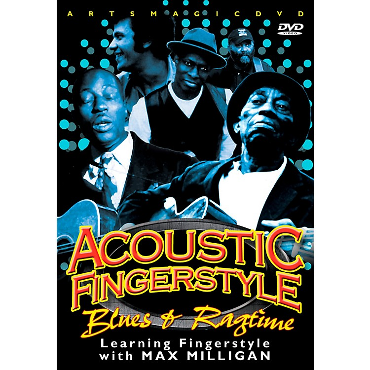 WEA Play Acoustic Fingerstyle - Blues & Ragtime