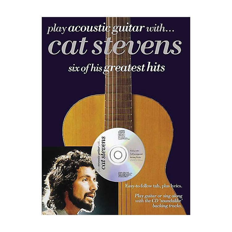 Music SalesPlay Acoustic Guitar with...Cat Stevens Music Sales America Series Softcover with CD by Cat Stevens