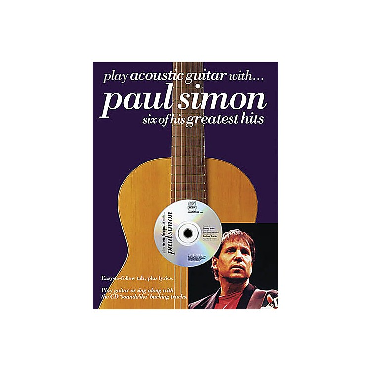 Music Sales Play Acoustic Guitar with...Paul Simon Music Sales America Series Softcover with CD by Paul Simon