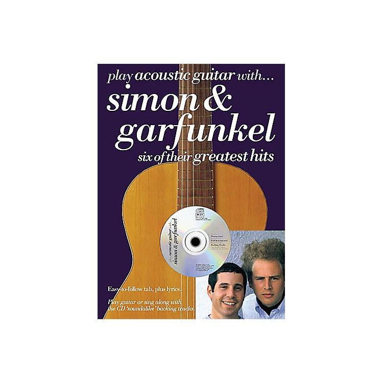 Music SalesPlay Acoustic Guitar with...Simon and Garfunkel Music Sales America BK/ CD by Simon And Garfunkel
