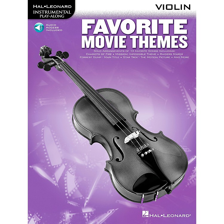 Hal LeonardPlay-Along Favorite Movie Themes Book with CD French Horn