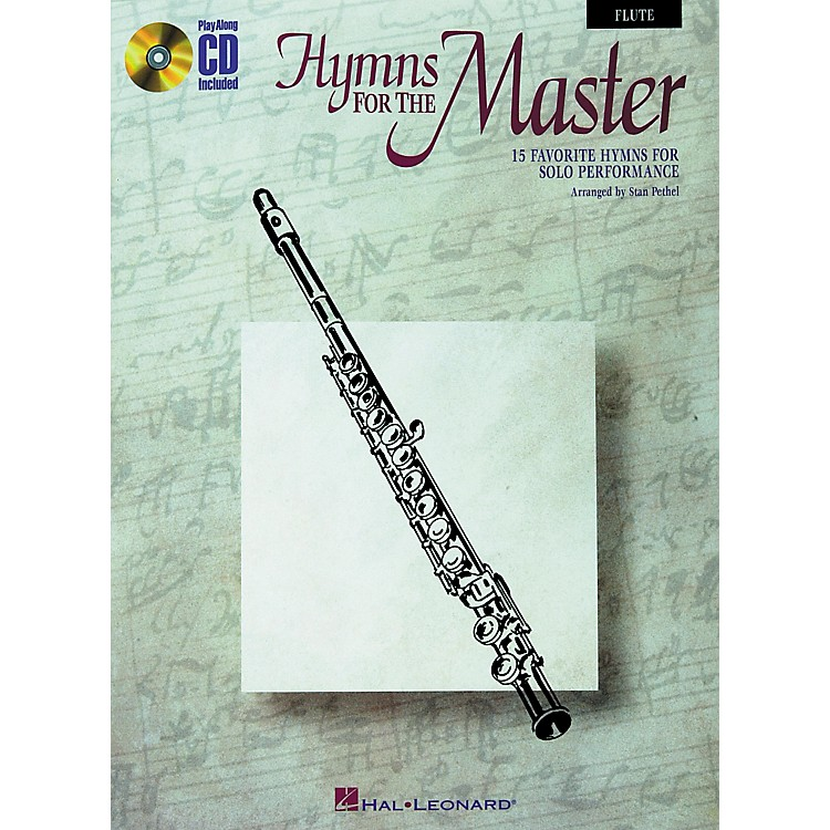 Hal Leonard Play Along Hymns for The Master (Book/CD) Piano