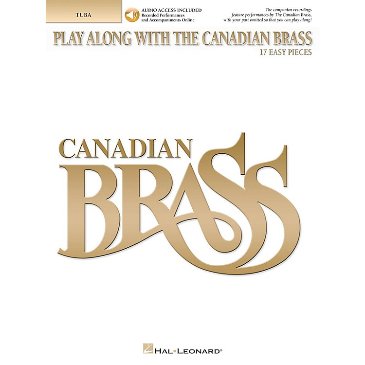 Canadian BrassPlay Along with The Canadian Brass Brass Softcover Audio Online by The Canadian Brass Composed by Various