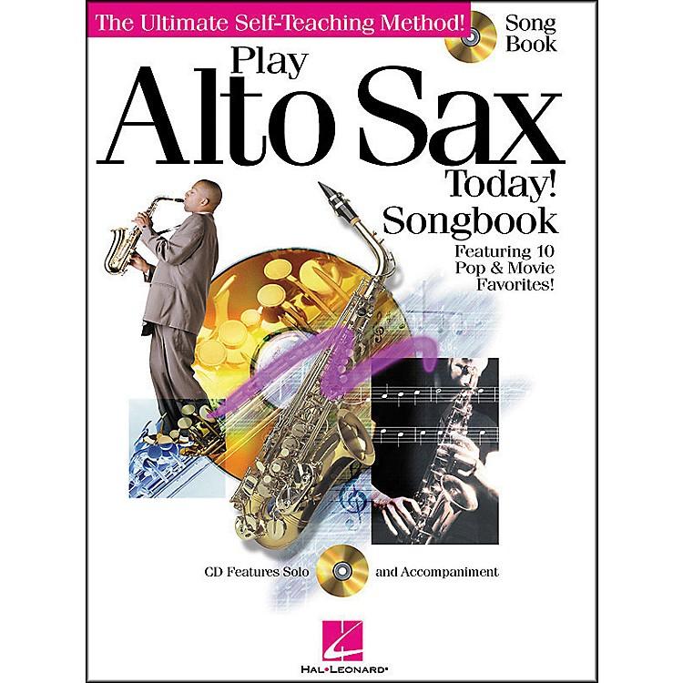 Hal LeonardPlay Alto Sax Today! Songbook CD/Pkg