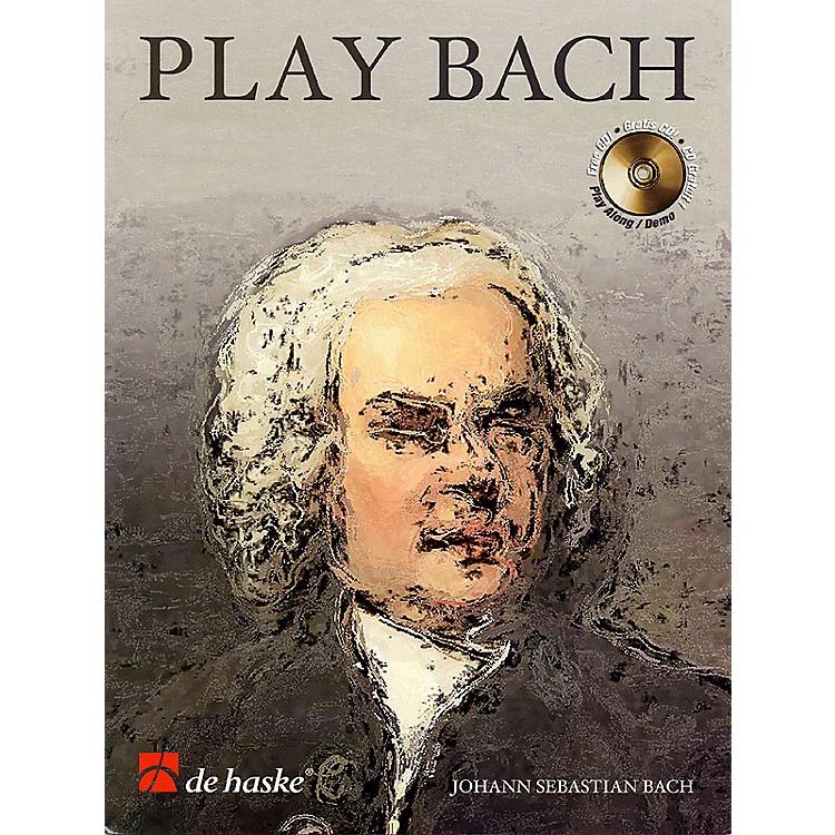 De Haske MusicPlay Bach (8 Famous Works) De Haske Play-Along Book Series BK/CD