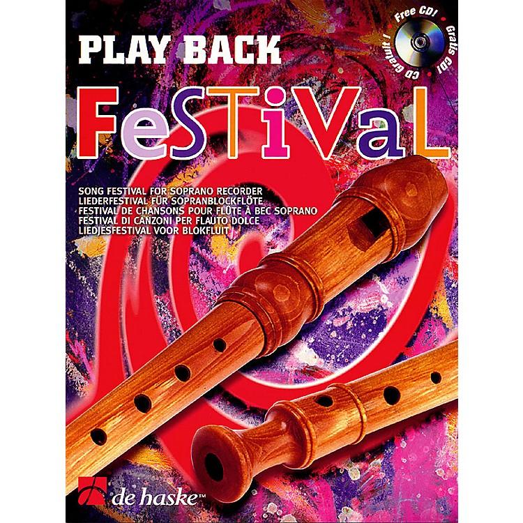 De Haske MusicPlay Back Festival (Song Festival for Soprano Recorder) De Haske Play-Along Book Series