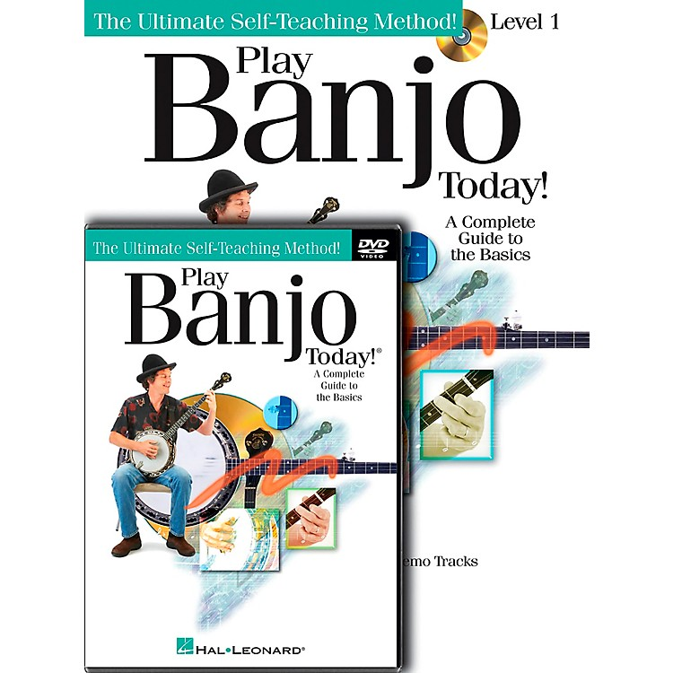 Hal LeonardPlay Banjo Today! Beginner's Pack - Includes Book/CD/DVD