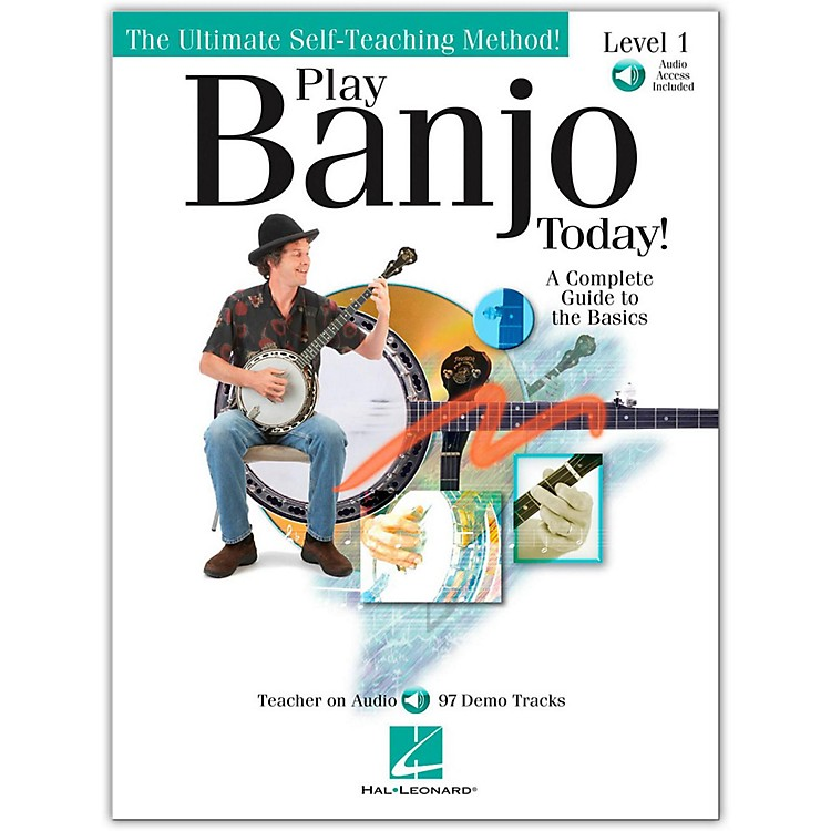 Hal Leonard Play Banjo Today! Level One - A Complete Guide To the Basics (Book/Online Audio)