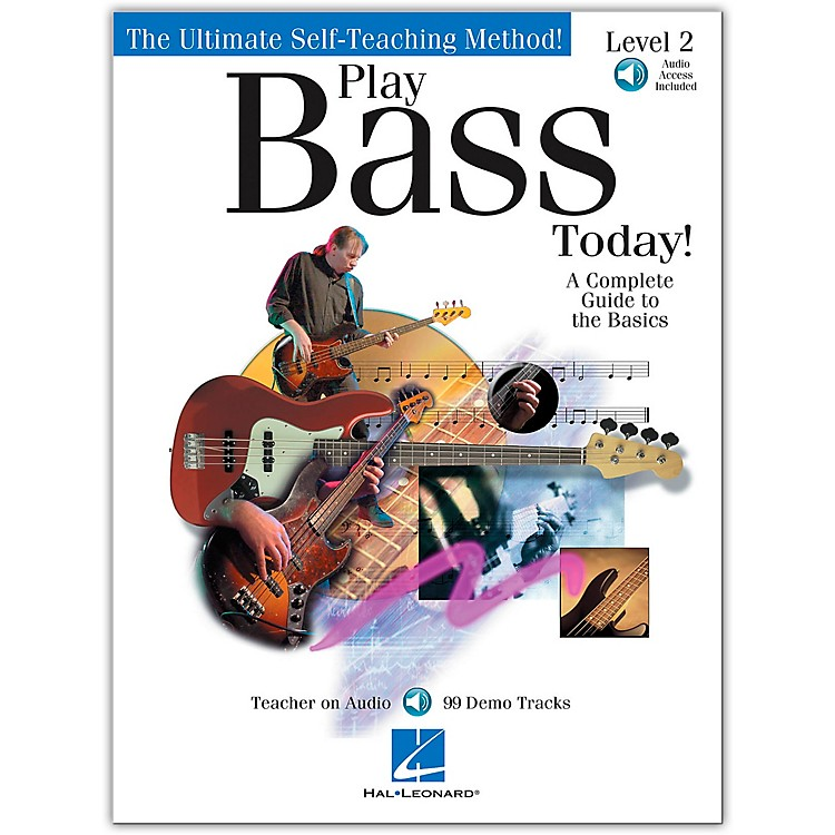 Hal Leonard Play Bass Today! - Level 2 (Book/Online Audio)