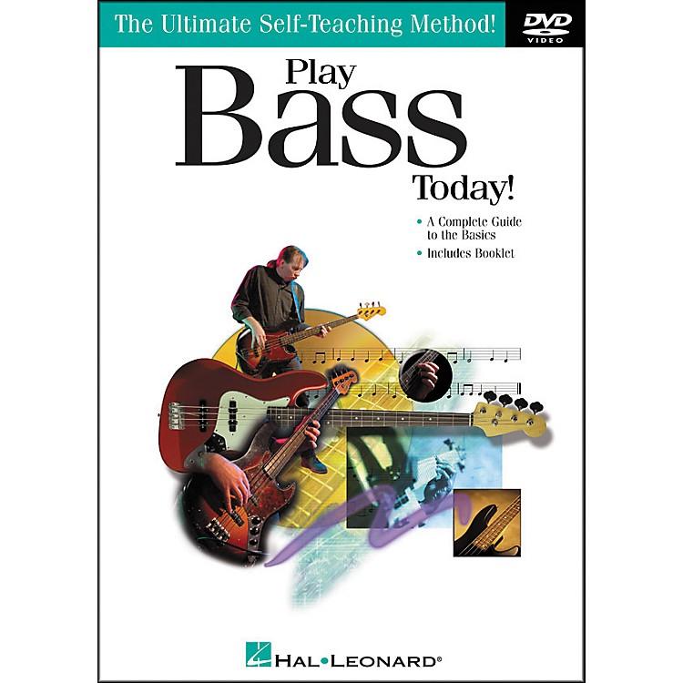 Hal LeonardPlay Bass Today! DVD