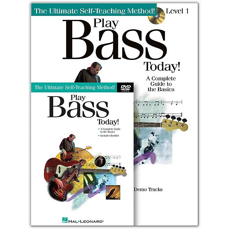 Hal LeonardPlay Bass Today! Level One (Book/CD/DVD)