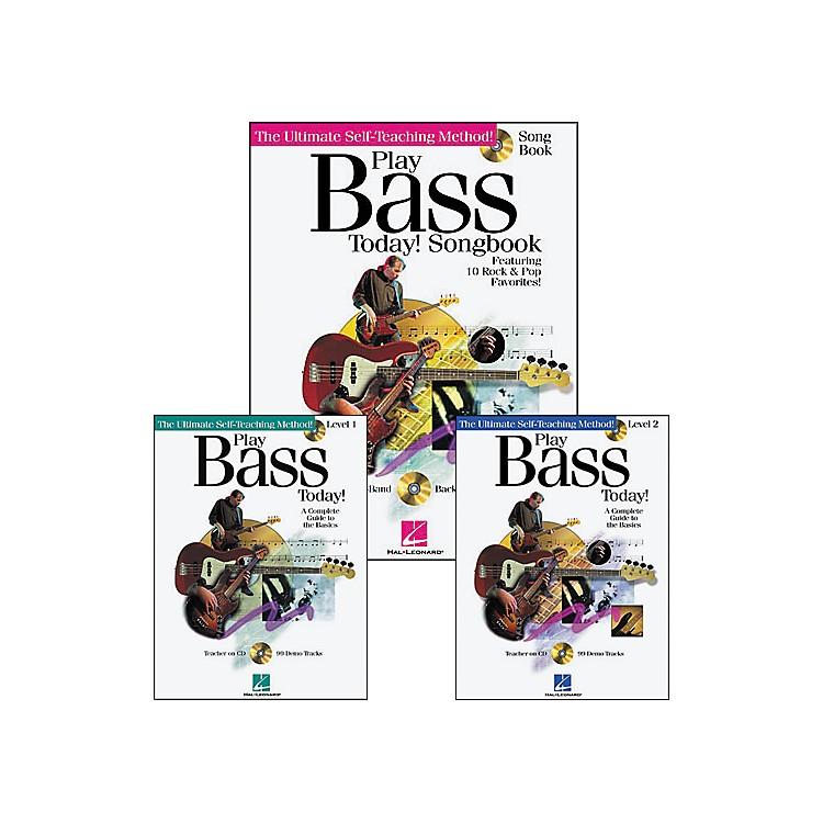Hal LeonardPlay Bass Today Pack (Book/CD)