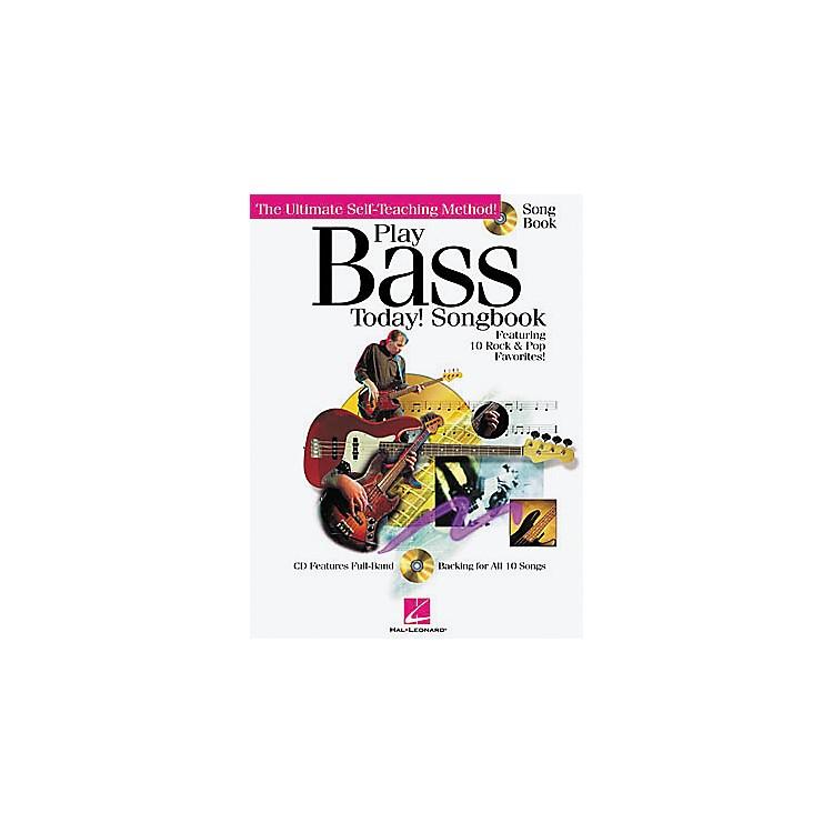 Hal LeonardPlay Bass Today! Songbook