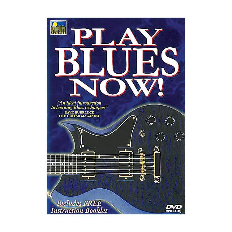 Music SalesPlay Blues Now! Music Sales America Series DVD Written by Mel Reeves