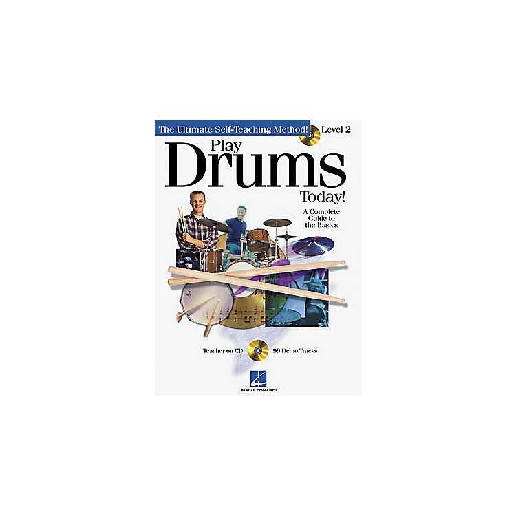 Hal LeonardPlay Drums Today! - Level 2 (Book/CD)