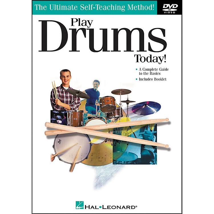 Hal Leonard Play Drums Today! DVD
