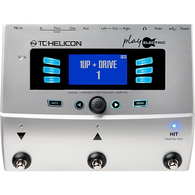 TC Helicon Play Electric Voice Processor for Electric Guitarists