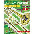 De Haske Music Play 'Em Right Jazz - Vol. 2 (Trombone) De Haske Play-Along Book Series Composed by Erik Veldkamp