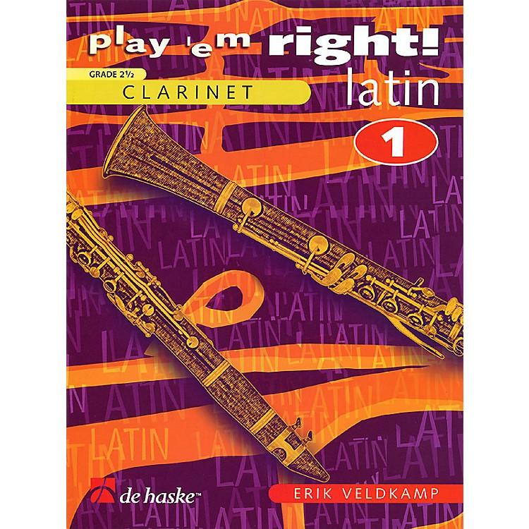 De Haske MusicPlay 'Em Right Latin - Vol. 1 (Vol. 1 - Clarinet) De Haske Play-Along Book Series