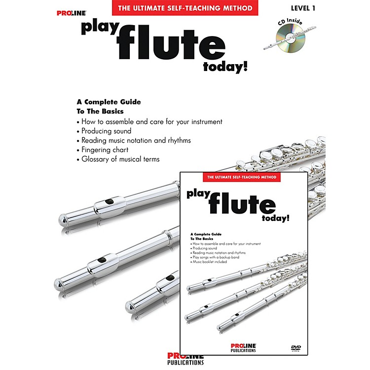 Proline Play Flute Today Beginner's Pack Book/CD/DVD
