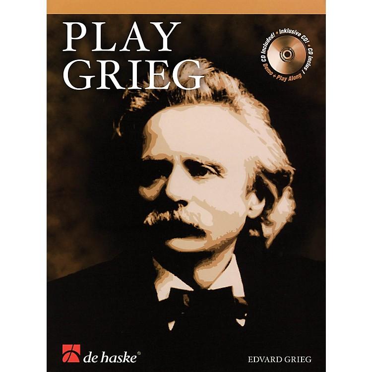De Haske MusicPlay Grieg (for Clarinet) De Haske Play-Along Book Series BK/CD