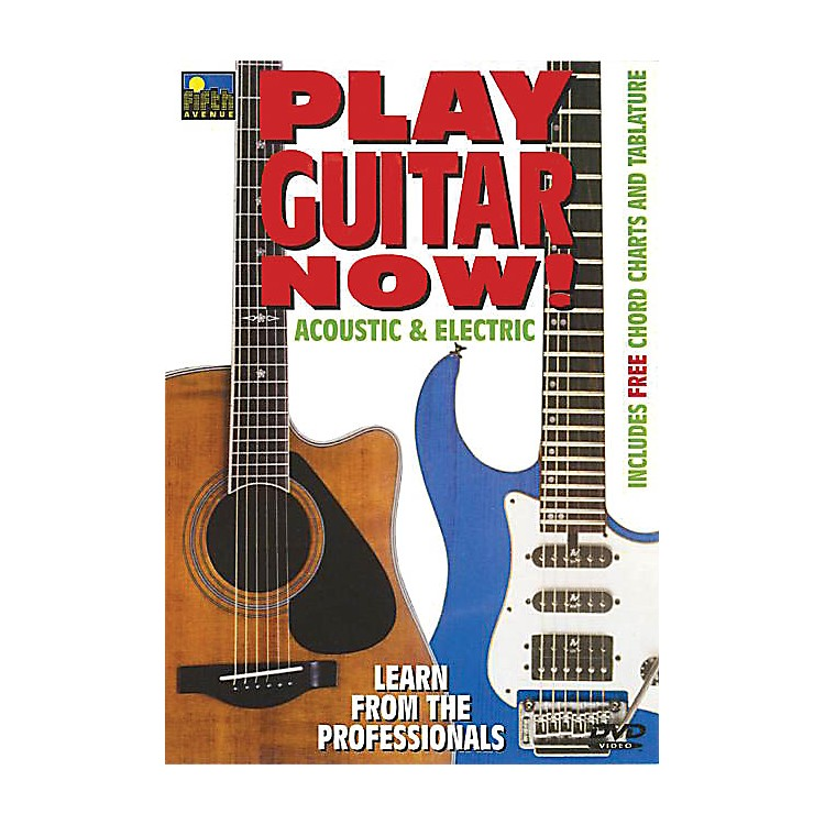 Music SalesPlay Guitar Now! - Acoustic & Electric Music Sales America Series DVD Written by Mel Reeves