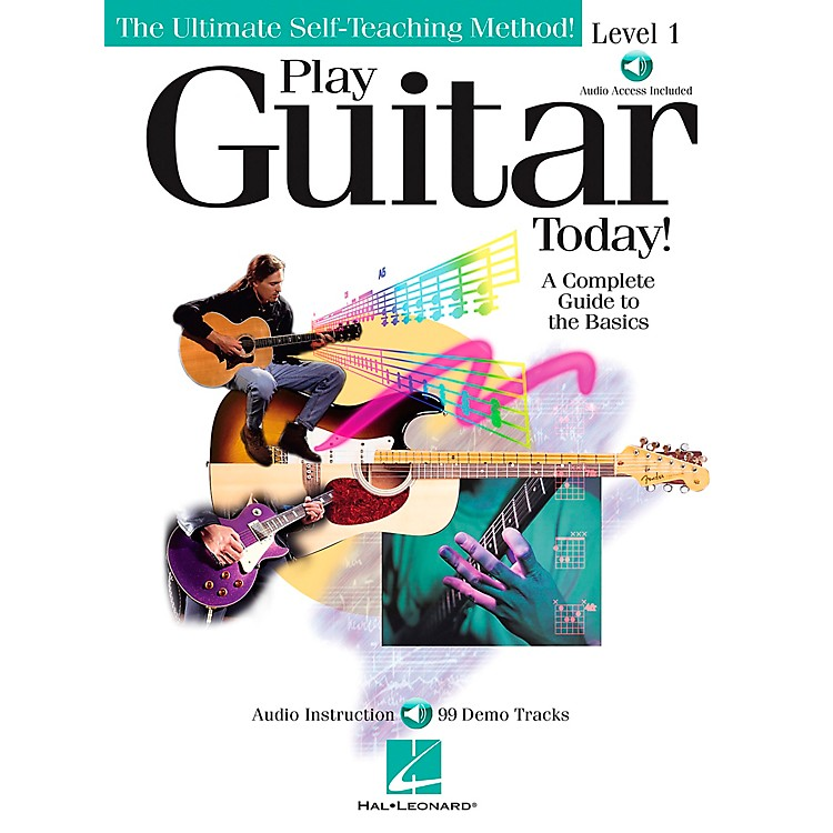 Hal Leonard Play Guitar Today! - Level 1 Book/CD