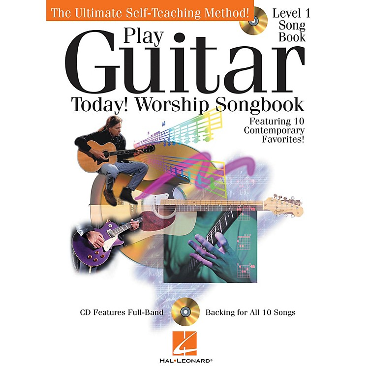 Hal Leonard Play Guitar Today! - Worship Songbook Play Today Instructional Series Series Softcover with CD by Various