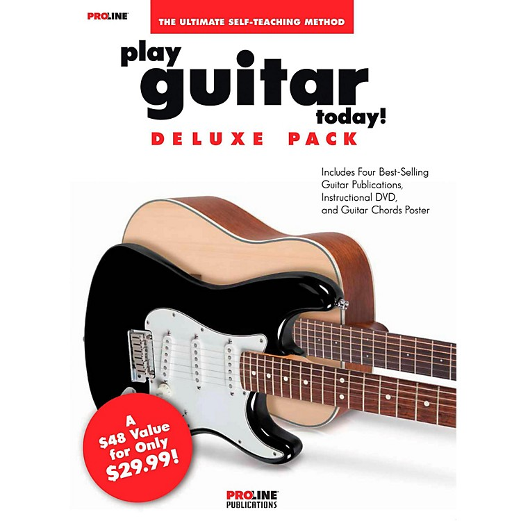 ProlinePlay Guitar Today Deluxe Pack - Includes 4 Books/CD/DVD - Proline Series