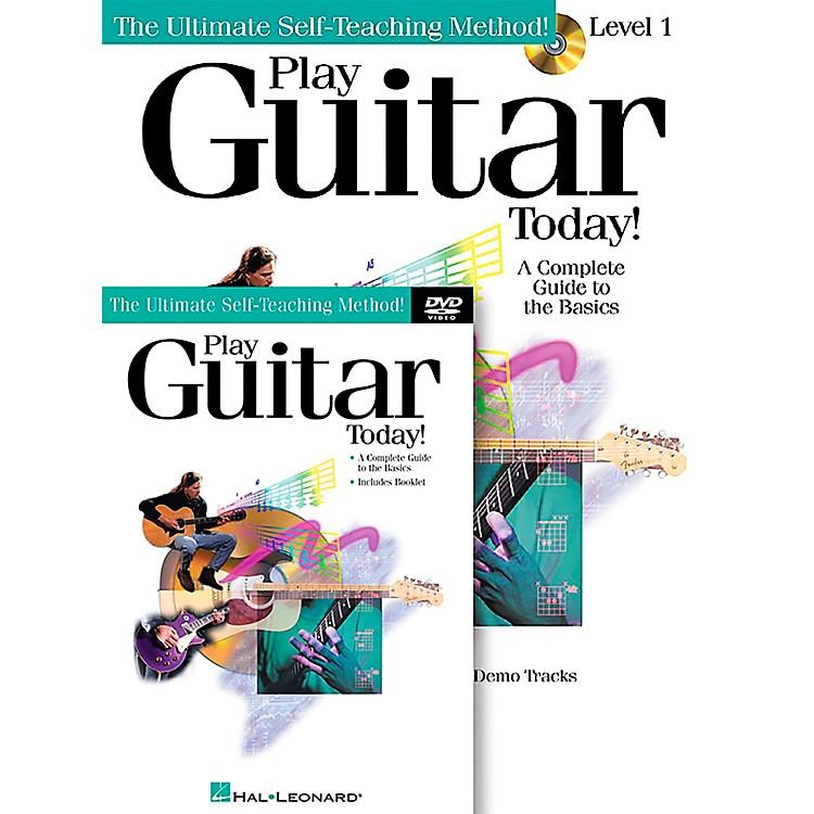 Hal LeonardPlay Guitar Today! Level One (Book/CD/DVD)