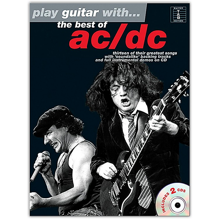 Music Sales Play Guitar With The Best Of AC/DC Book/Online Audio