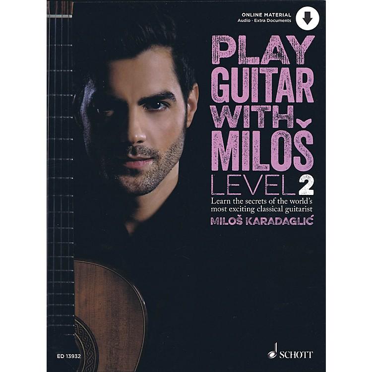 SchottPlay Guitar with Milos Level 2 Book/Audio Online