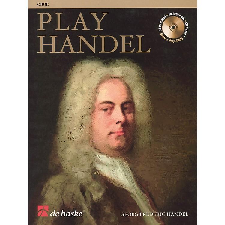 De Haske MusicPlay Handel (Oboe) De Haske Play-Along Book Series