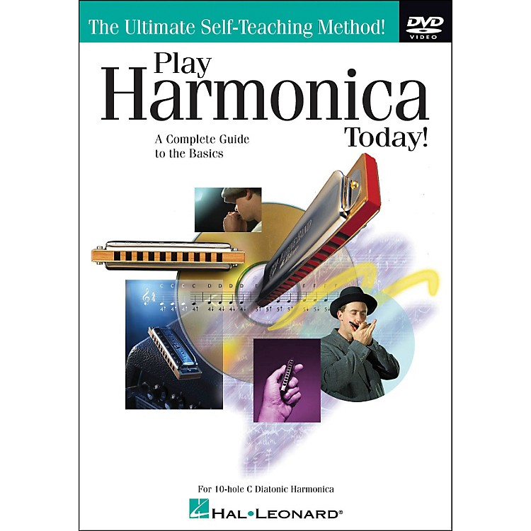 Hal Leonard Play Harmonica Today! DVD