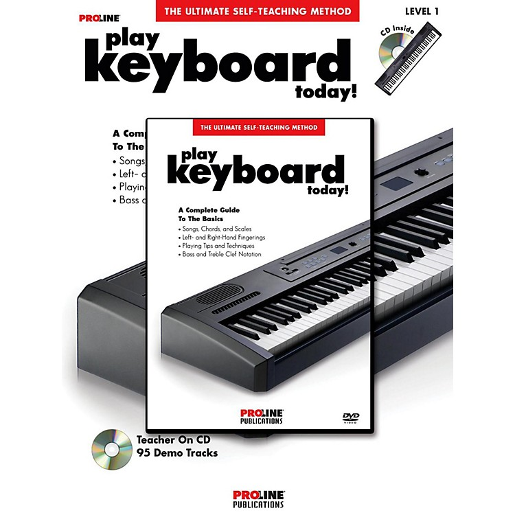 ProlinePlay Keyboard Today! (Book/DVD Pack)