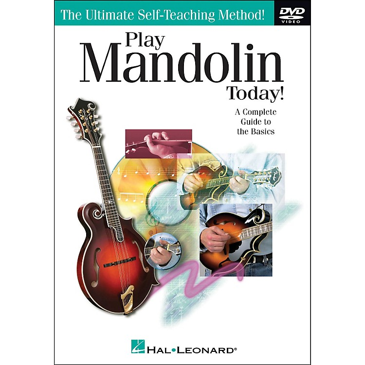 Hal Leonard Play Mandolin Today! DVD