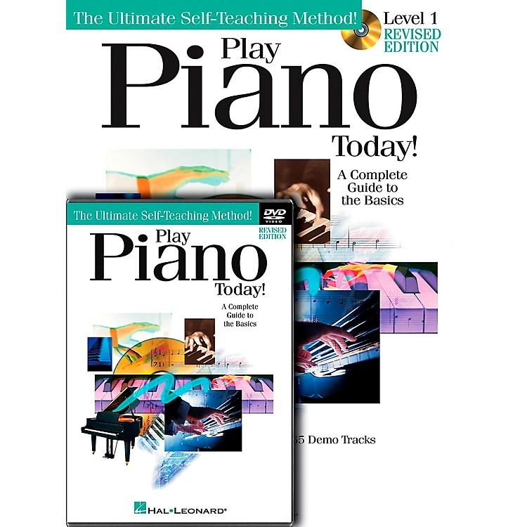 Hal LeonardPlay Piano Today! Level One (Book/CD/DVD)