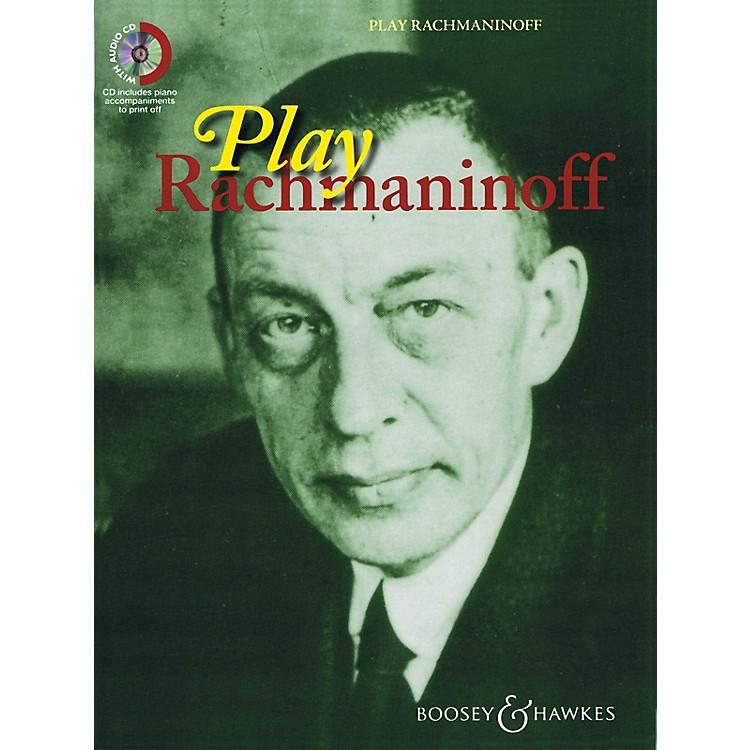 Boosey and HawkesPlay Rachmaninoff Boosey & Hawkes Chamber Music Series Book with CD