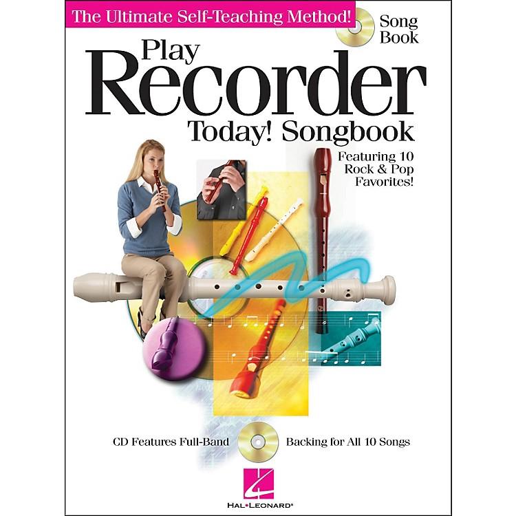 Hal LeonardPlay Recorder Today! Songbook (CD/Pkg)
