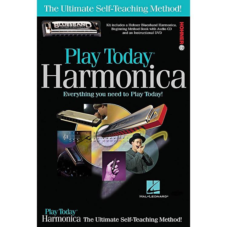Hal LeonardPlay Today Harmonica Complete Kit (Book/CD/DVD/Harmonica)