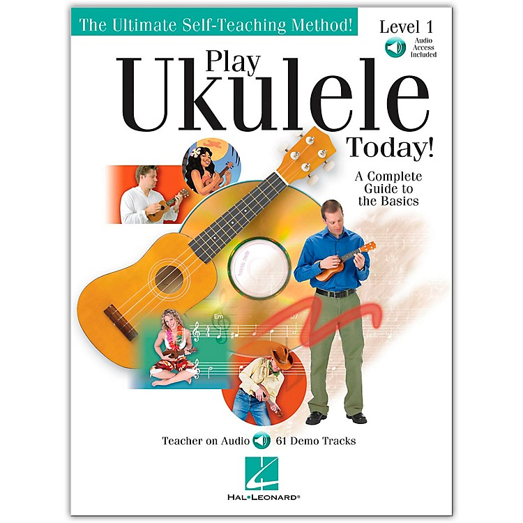 Hal LeonardPlay Ukulele Today! Level One Book/CD 9X12