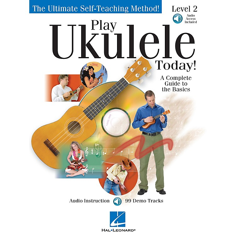 Hal LeonardPlay Ukulele Today! Level Two Play Today Instructional Series Softcover Audio Online by John Nicholson