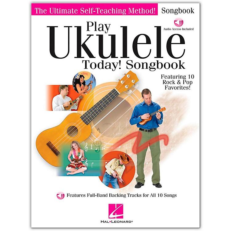 Hal LeonardPlay Ukulele Today! Songbook (Book/Online Audio)
