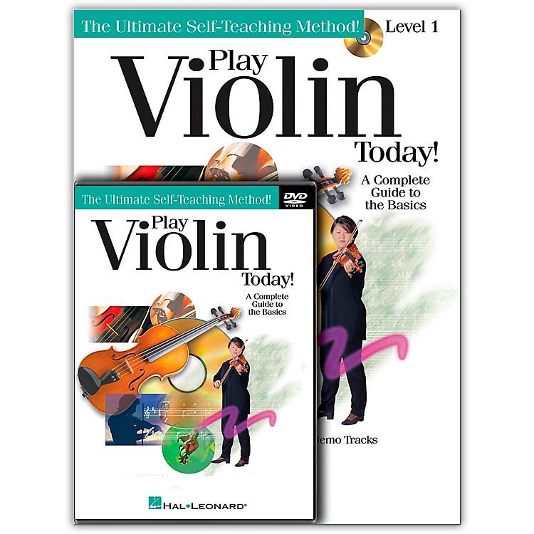 Hal LeonardPlay Violin Today! Beginner's Pack - Includes Book/CD/DVD