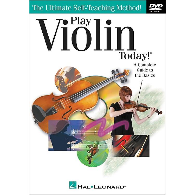Hal LeonardPlay Violin Today! DVD