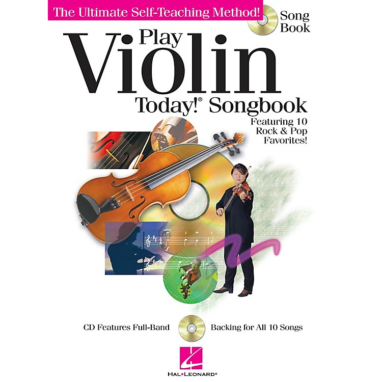 Hal Leonard Play Violin Today! Songbook Play Today Instructional Series Series Softcover with CD by Various Authors