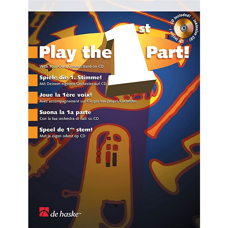 De Haske MusicPlay the 1st Part! - Bb Clarinet De Haske Play-Along Book Series BK/CD