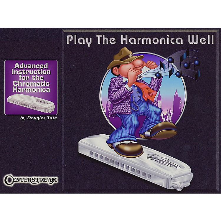 Centerstream Publishing Play the Harmonica Well Harmonica Series