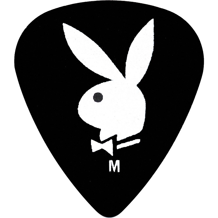 ClaytonPlayboy Guitar Picks 12-PackBlackMedium